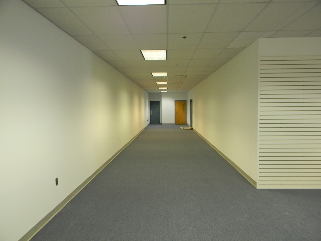 Extra game space. Restrooms at the end of the hall.